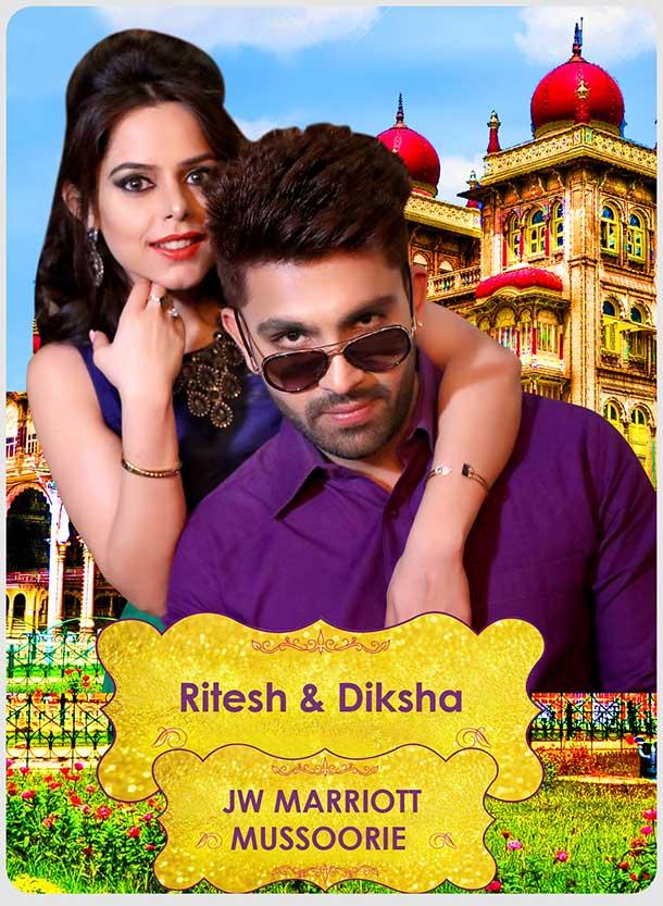 Ritesh & Diksha