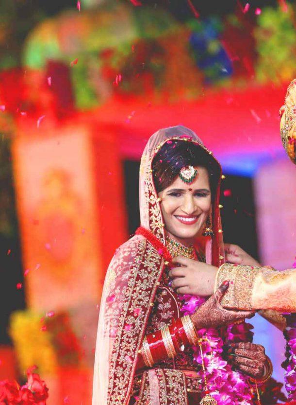 Disha & Ankur @ Vrindavan Greens Garden, Ghaziabad